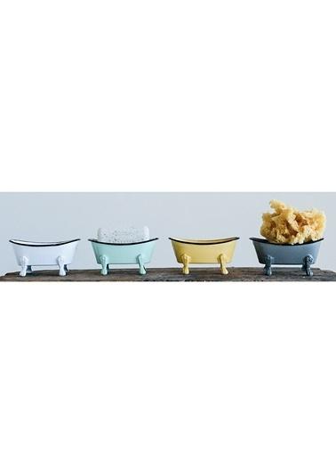 Warm Design Metal Küvet Sabunluk Renkli
